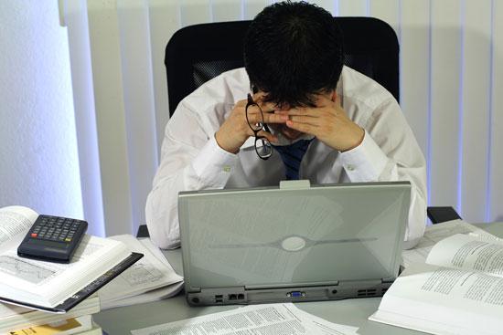 Tiếng ồn lớn khiến ảnh hưởng đến công việc