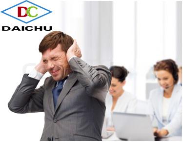 Tiếng ồn ảnh hưởng đến người làm việc