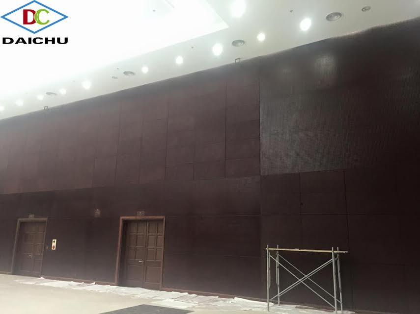 Trung tâm hành chính Đà Nẵng sử dụng tấm sợi gỗ tiêu âm của Đức
