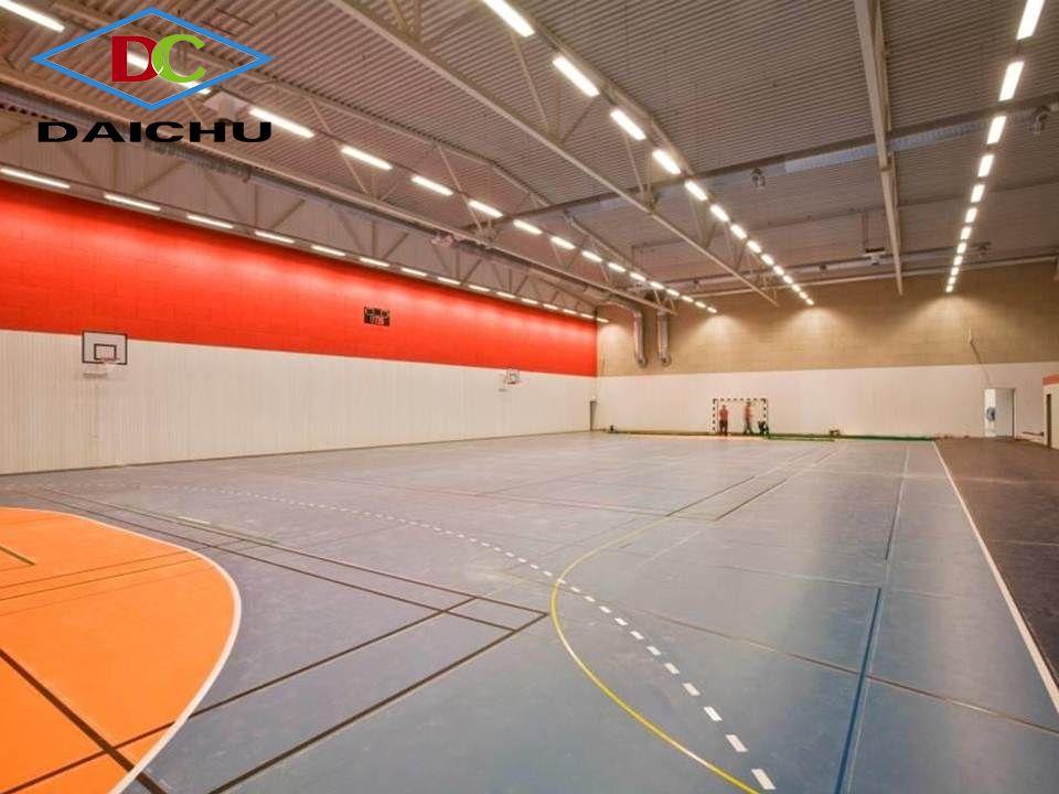 Tấm sợi gỗ tiêu âm HeraDesign tại phòng bóng rổ